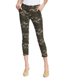 William Rast | Cropped Skinny Cargo Pants | Lyst