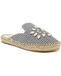 Patricia Green - Embellished Espadrille Mule - Lyst