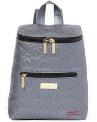 Peace Love World - Quilted Canvas Backpack - Lyst