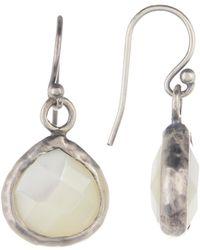 Peyote Bird - Sterling Silver Mother Of Pearl Earrings - Lyst