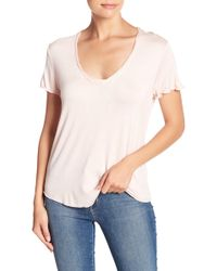 Project Social T - Twist Neck Tee - Lyst