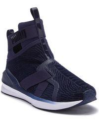 PUMA - Fierce Strap Flocking Training Sneaker - Lyst
