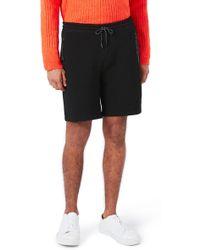 TOPMAN - Textured Jersey Shorts - Lyst