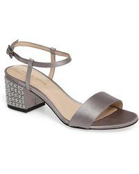 Pelle Moda - Alicia Block Heel Sandal - Lyst