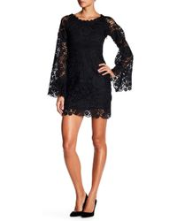 Romeo and Juliet Couture - Off-the-shoulder Lace Overlay Dress - Lyst
