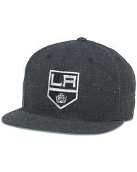 947dd3e199de3 American Needle - Nhl Los Angeles Kings Fleck Patterned Flat Brim Baseball  Cap - Lyst