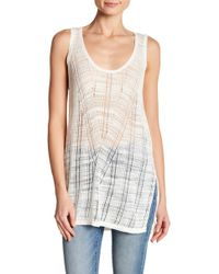 French Connection - Max Mix Knits Tank Top - Lyst