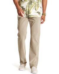 """Tommy Bahama - Santiago Washed Twill Trousers - 30-34"""" Inseam - Lyst"""