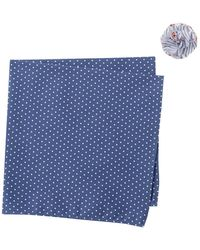 Original Penguin - Cramm Dot Pocket Square & Lapel Pin Set - Lyst