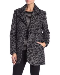 Lucky Brand - Notch Lapel Coat - Lyst