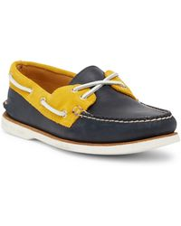 Sperry Top-Sider - Gold Cup Authentic Original 2-eye Boat Shoe - Lyst