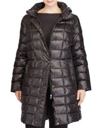 Lauren by Ralph Lauren - Quilted Down Coat - Lyst