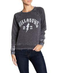 Billabong - Heritage Bolt Raglan Sweatshirt - Lyst