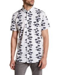 Sovereign Code - Ky Short Sleeve Print Regular Fit Shirt - Lyst