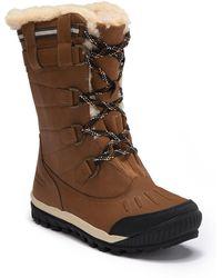 BEARPAW - Desdemona Genuine Sheepskin Lined Lace-up Boot (women) - Lyst
