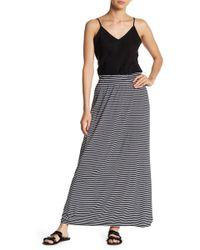Joe Fresh - Stripe Maxi Skirt - Lyst