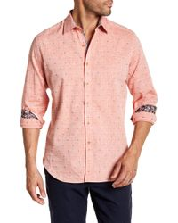 Robert Graham - Cosner Regular Fit Woven Shirt - Lyst