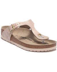 74754f8326b Birkenstock - Gizeh Thong Sandal - Discontinued - Lyst