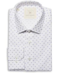 Strong Suit - Ilaria Urbinati Edmond Slim Fit Medallion Dress Shirt - Lyst