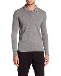 Velvet - Collared Cashmere Sweater - Lyst