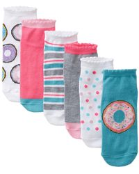 Circus by Sam Edelman - Donut Go There No Shoe Socks - Pack Of 6 - Lyst