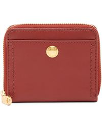 Cole Haan - Benson Ii Leather Zip Around Wallet - Lyst