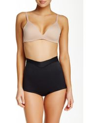 Joan Vass - Mid Waist Control Brief (plus Size Available) - Lyst