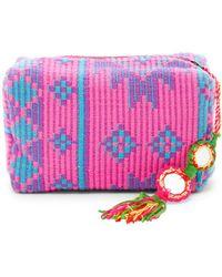 Raj - Aztec Tassel Cosmetic Bag - Lyst