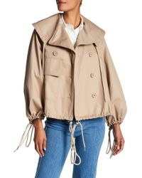 See By Chloé | Bell Sleeve Drawstring Jacket | Lyst
