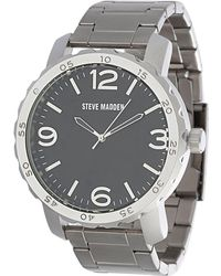 Steve Madden - Men's Alloy 50mm Watch - Lyst