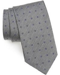 David Donahue - Square Dot Silk Tie - Lyst
