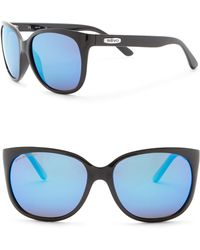 Revo - Grand Classic Polarized 58mm Square Sunglasses - Lyst
