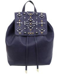 Foley + Corinna | Avery Studded Liberated Vegan Leather Backpack | Lyst