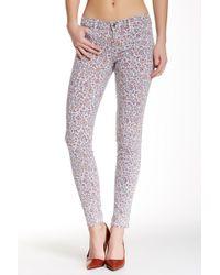 Level 99 - Janice Ultra Skinny Printed Pants - Lyst