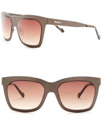 William Rast - Men's 55mm Rectangular Sunglasses - Lyst