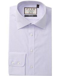 Thomas Pink - Tobias Check Slim Fit Dress Shirt - Lyst