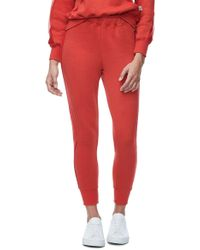 GOOD AMERICAN - Good Sweats Mesh Inset Sweatpants (regular & Plus Size) - Lyst