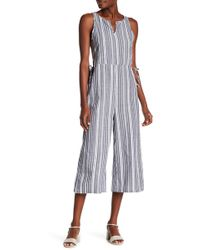 Lucca Couture - Kendall Waist Tie Jumpsuit - Lyst