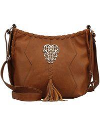 Kensie - Tarrina Faux Leather Crossbody Bag - Lyst