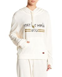 "Peace Love World - """" Tour Hoodie - Lyst"