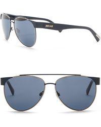 Just Cavalli - Aviator 59mm Metal & Plastic Sunglasses - Lyst