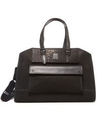 Belstaff - Tourmaster Leather Holdall - Lyst