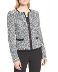 BOSS - Kalaila Tweed Jacket (regular & Petite) - Lyst