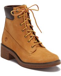 """Timberland - Brinda 6"""" Lace Up Boots - Lyst"""