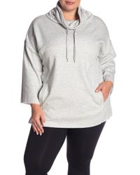 UGG - Astrid Fleece Poncho Pullover (plus Size) - Lyst