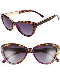 Privé Revaux - Priv? Revaux The Hepburn 56mm Cat Eye Sunglasses - Lyst