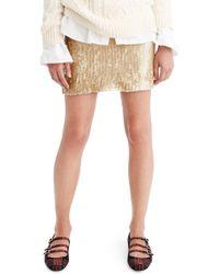 J.Crew | Sequin Miniskirt | Lyst