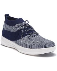 1502b65e21989 Fitflop - Uberknit Slip-on High Top Sneaker - Lyst