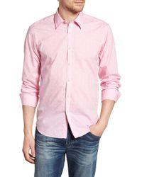 Jeremy Argyle Nyc - Comfort Fit Palm Print Sport Shirt - Lyst
