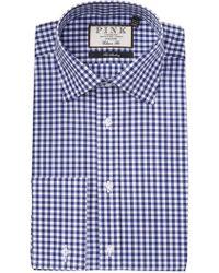 Thomas Pink - Summers Gingham Print Classic Fit Dress Shirt - Lyst